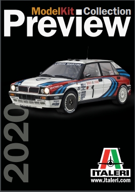 ITALERI ModelKit Collection Preview 2020